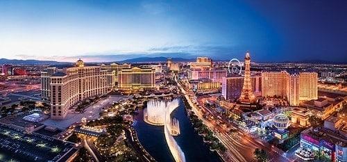 Panorama sur Las Vegas