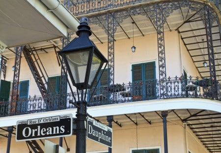 Week end à la Nouvelle-Orléans