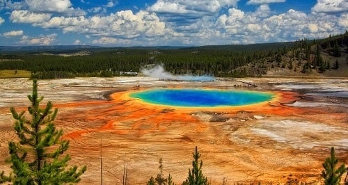 Parc national de Yellowstone - Wyoming