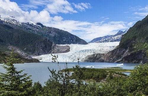 Glacier Mendenhall - Alaska