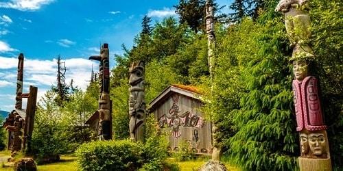 Totem Bight State Historical Park - Alaska