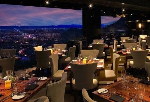 Restaurant Top of the rock - Phoenix