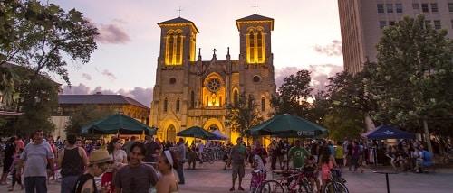 Main Plaza - San Antonio