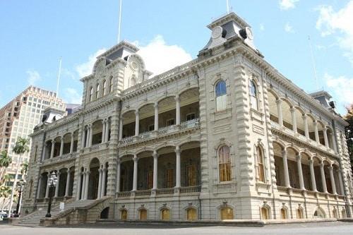 Palais Iolani - Honolulu