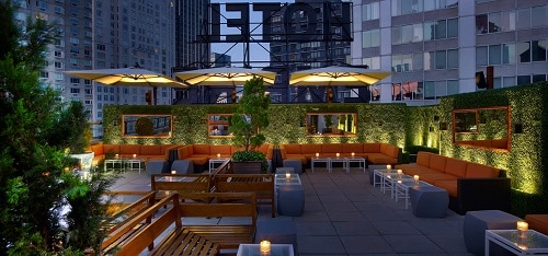 Empire Hotel Rooftop - New York