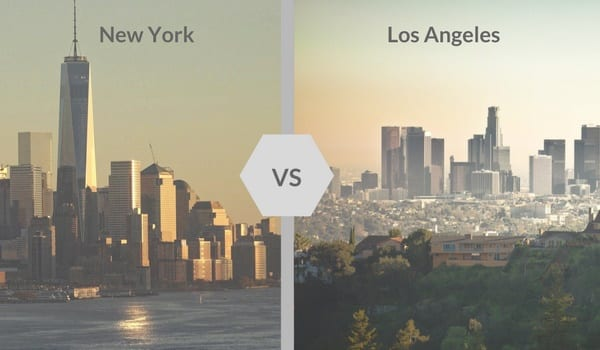 Dating nyc vs la