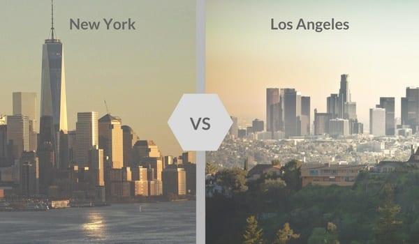 Los Angeles vs New-York quelle ville choisir pour ton stage aux USA ?