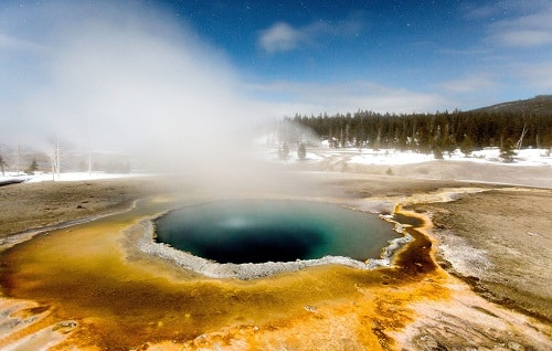 Parc national de Yellowstone / Wyoming
