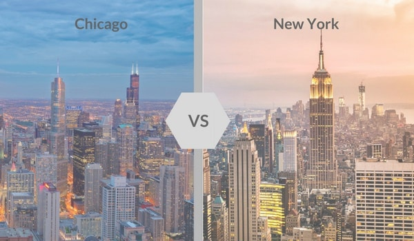 Chicago ou New-York, quelle ville choisir pour ton stage aux USA ?