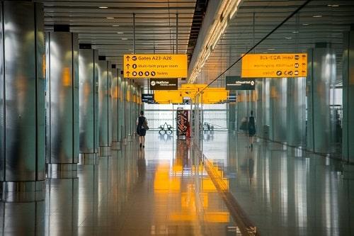 sécurité aux aéroports
