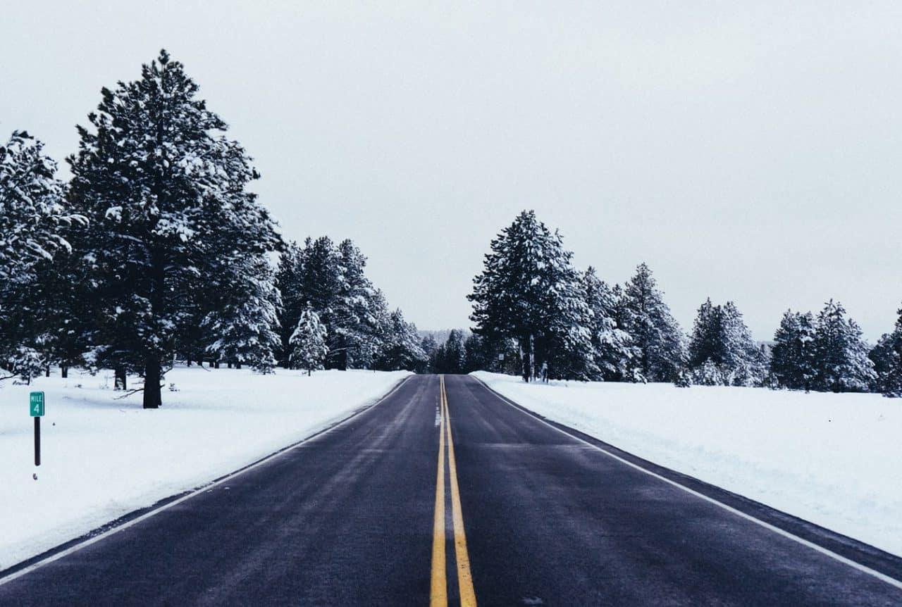 Un Noel Sous La Neige Aux Usa
