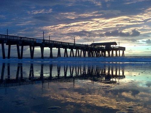 Tybee Island beach - Savannah